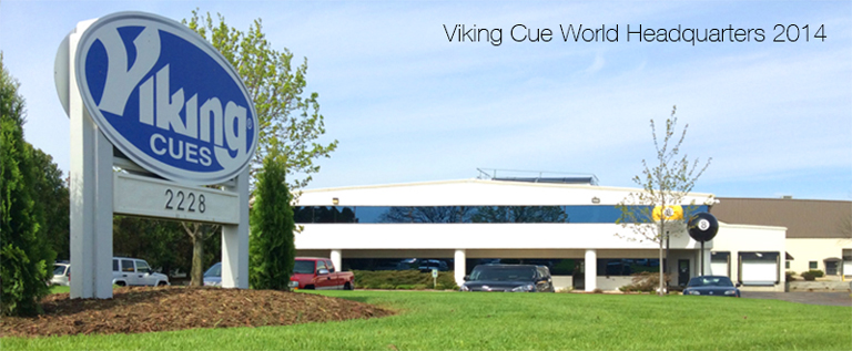 NEW Viking Cue Line Debut in Las Vegas for the BCA Nationals
