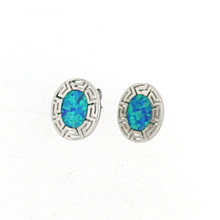 Opal and Silver 925 earings OE5628