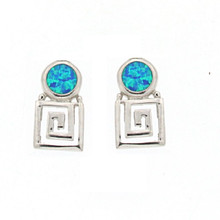 Opal and Silver 925 earings OE5324