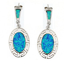 Opal and Silver 925 earings OE5340
