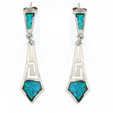 Opal and Silver 925 earings OE5354