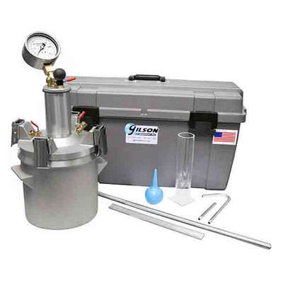 Concrete Air Meter Kit with Stainless Steel Gauge