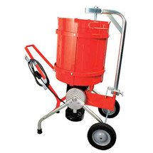 M-61-M Mobile Cement Mixer, 10 Gallon with 1 HP Motor