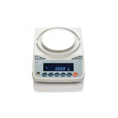 A&D Weighing FX-120IN Precision Balance, 122g x 0.001g