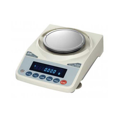 A&D Weighing FX-3000IN Precision Balance, 3200g x 0.01g