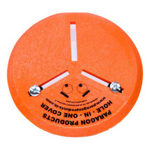 15in Disc Hole-In-One, Covers Hole Size 3-12in Diameter