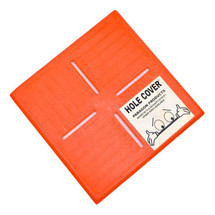 8in x 15in Hole-In-One: Covers Square Hole Size 6-12in Diameter