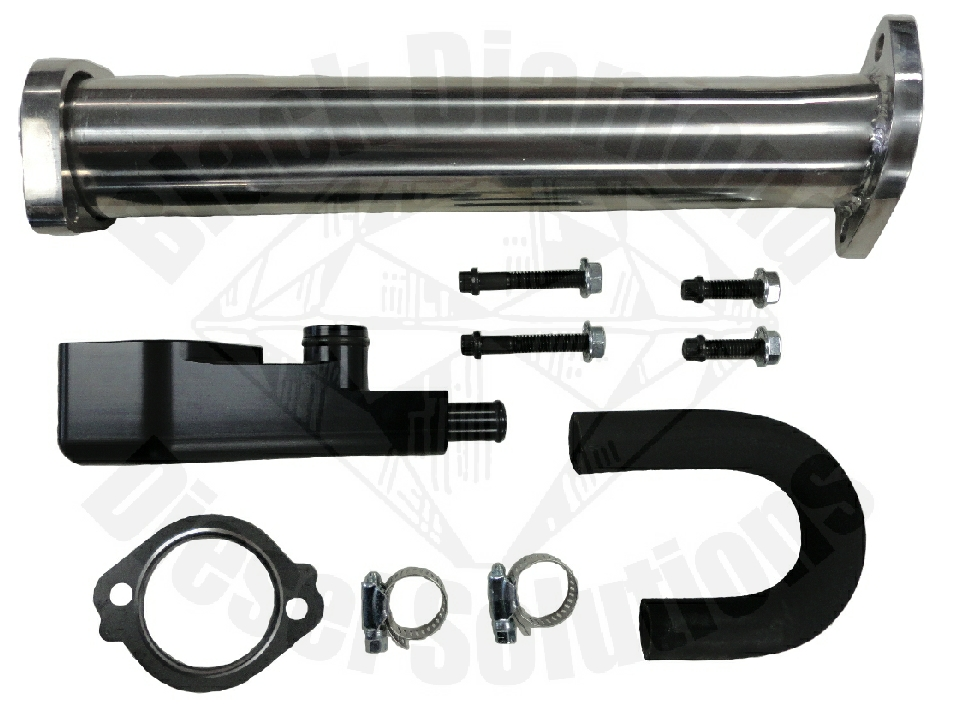 Ford 6.0 Powerstroke EGR Delete Kit with Pipe
