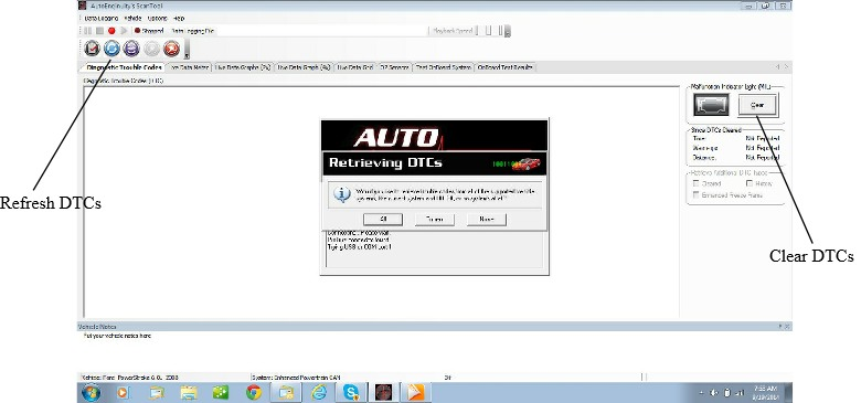Auto Enginuity DTC Screenshot