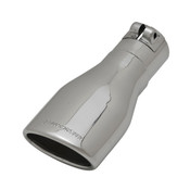 Flowmaster  Exhaust Tip - 3 x 4.5 in Oval Angle Cut Polished SS Fits 2.50 in.