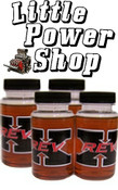 Rev X Oil Additive - Four 4oz Bottles - Helps Powerstroke Performance