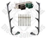 Black Diamond 2003 Ford 6.0 Powerstroke Glow Plug Super Kit w Harness Controller