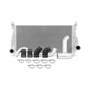Mishimoto 02-04.5 Chevrolet 6.6L Duramax Intercooler Kit w/ Pipes (Silver)