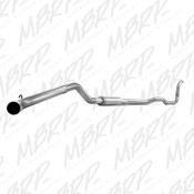 MBRP 1988-1993 Dodge 2500/3500 Cummins Turbo Back, Single Side Exhaust