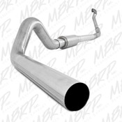 MBRP 1994-1997 Ford F-250/350 7.3L Turbo Back, Single Off-Road Exhaust