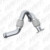 MBRP 2003-2007 Ford 6.0L Powerstroke Turbo Y Up Pipe Bellow Upgrade
