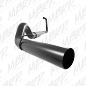 "MBRP 2003-2007 Ford Powerstroke 6.0L 5"" Turbo Back Black Coated Exhaust Kit"
