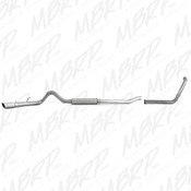 "MBRP 2003-2007 Ford Powerstroke 6.0 4"" Turbo Back (Stock Cat) Exhaust Kit"