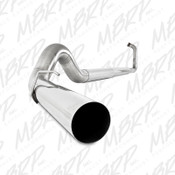 "MBRP 2003-2007 Ford Powerstroke 6.0L 5"" Turbo Back No Muffler SS Exhaust"