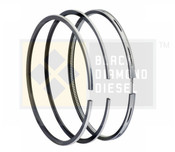 Black Diamond 04.5-05 Duramax 6.6 LLY Standard Piston Ring Set (1)