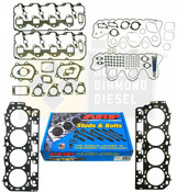 Black Diamond 04.5-05 Duramax 6.6 LLY Head Gasket Kit with ARP Studs