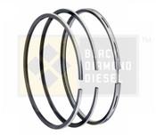 Black Diamond 06-07 Duramax 6.6 LBZ Standard Piston Ring Set (1)