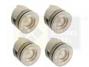Black Diamond 07.5-10 Duramax 6.6 LMM Standard Left Side Pistons (4)