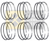 Black Diamond 04.5-07 Dodge 5.9 Cummins .040 Oversize Piston Ring Set