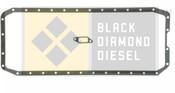 Black Diamond 04.5-07 Dodge 5.9 Cummins Oil Pan Gasket Set