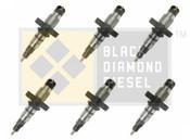 Black Diamond 03-04 Dodge 5.9 Cummins Replacement Set of Stock Injectors