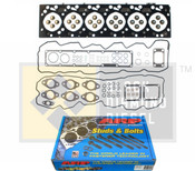 Black Diamond 07.5-15 Dodge 6.7 Cummins Head Gasket Set with ARP 625 Head Studs Kit
