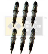 Black Diamond 07.5-15 Dodge 6.7 Cummins Replacement Set of Stock Injectors