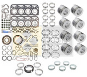 Black Diamond 94-97 Ford 7.3 Powerstroke Engine Rebuild Kit with Pistons