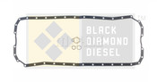 Black Diamond Oil Pan Gasket Fits 98.5-02 Dodge 5.9 Cummins 24V