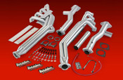 Banks Monster Exhaust, Single-Dual, S/S Chrome Tips - 2007-10 Dodge 6.7L, SCLB & CCLB