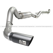 MACH Force XP 5' Down-Pipe Back Stainless Steel Exhaust Race System; GM Dsl Trucks 07.5-10 V8-6.6L