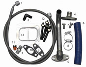 Fleece Duramax S300/S400 Turbo Installation Kit