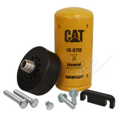 DURAMAX CAT ADAPTER WITH 1R-0750 FILTER, BLEEDER SCREW & SPACER