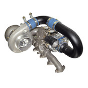 BD Diesel R700 Tow & Track Turbo Kit w/FMW Billet Wheel on Secondary - Dodge 98-02 24-vlv