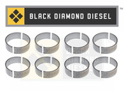 Black Diamond 11-15 Duramax 6.6 LMl Standard Connecting Rod Bearing Set (8)