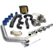 BD Diesel Super B Twin Turbo Kit w/FMW Billet Wheel on Secondary - Dodge 2003-2007 5.9L