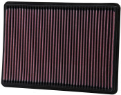 K&N JEEP LIBERTY 01-07, GRAND CHEROKEE / COMMANDER 05-10 Replacement Air Filter