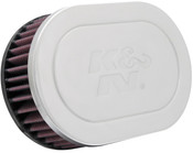 K&N OVAL FLG;GM TPI CUSTOM Universal Chrome Filter