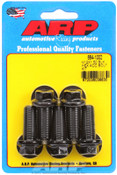 ARP M12 x 1.50 x 30 hex black oxide bolts