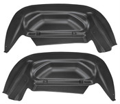 14-17 SILVERADO 1500, SILVERADO 2500/3500 REAR WHEEL WELL GUARDS BLACK