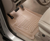 11-16 CHARGER/CHRYSLER 300 (AWD ONLY) CUSTOM MOLDED FRONT & 2ND SEAT WEATHERBEATER FLOOR LINERS TAN
