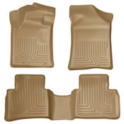 13-15 ALTIMA FRONT/2ND SEAT FLOOR LINERS TAN