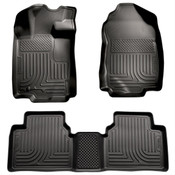 10-12 FUSION/MILAN/06-12 ZEPHYR/10-12 MKZ CUSTOM MOLDED FRONT & 2ND SEAT LINER BLACK