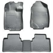 10-12 FUSION/MILAN/06-12 ZEPHYR/10-12 MKZ CUSTOM MOLDED FRONT & 2ND SEAT LINER GREY