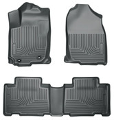 13-17 ACCORD WEATHERBEATER FRONT & 2ND SEAT FLOOR LINERS BLACK